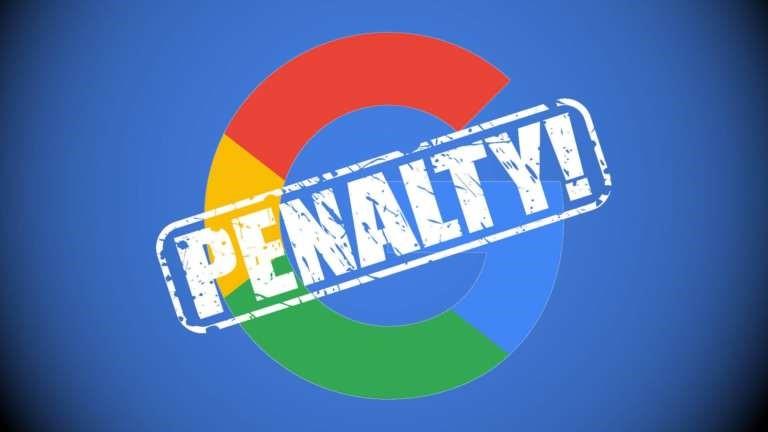 راه های تشخیص پنالتی شدن در گوگل