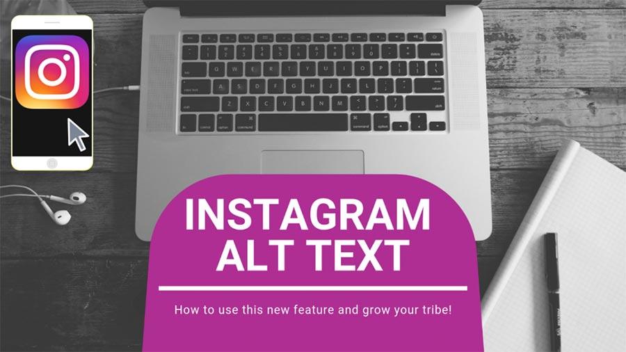 ویژگی ALT TEXT برای افزایش سئو اینستاگرام