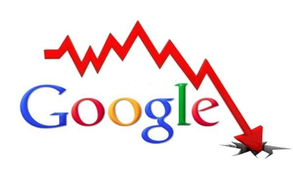 کاهش رتبه سایت به دلیل جریمه شدن در گوگل