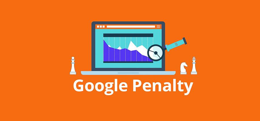 راه های رفع پنالتی توسط گوگل